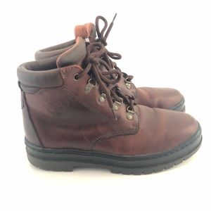Timberland Brown Leather Bush Hiker Boots 7.5
